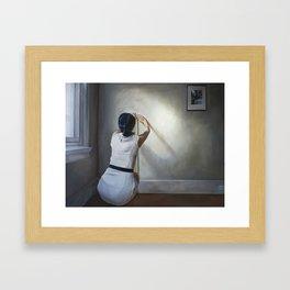 Measuring Framed Art Print