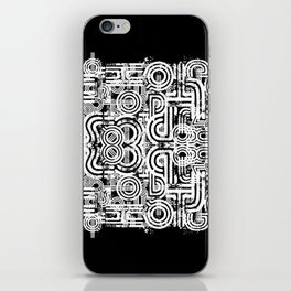 Disorganized Speech #8 iPhone Skin