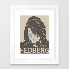 Mitch Hedberg Framed Art Print