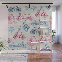 Crazy Bikes Wall Mural