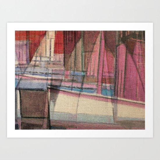 Stilt House 3 Art Print