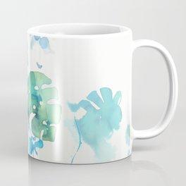 Tropical leaves, (collab Dylan Silva!) Coffee Mug