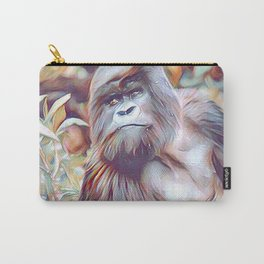 Painted Gorilla Carry-All Pouch