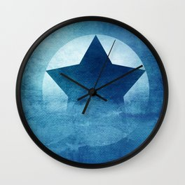 Star Composition III Wall Clock