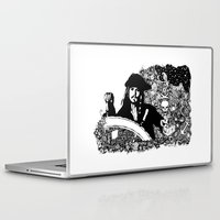 jack sparrow Laptop & iPad Skins featuring Jack Sparrow by Ink Tales