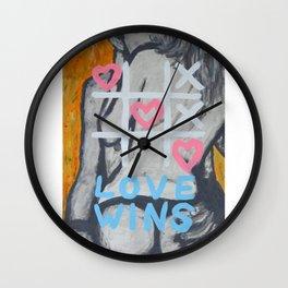 Nothing beats love...!!! Wall Clock