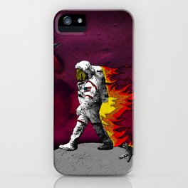 houston we have a problem iPhone Case