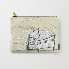 My House Is Me Carry-All Pouch