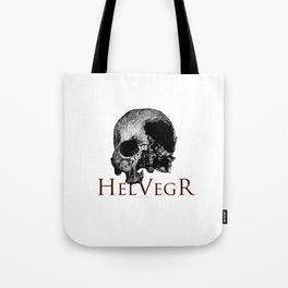 Helvegr Skull Tote Bag