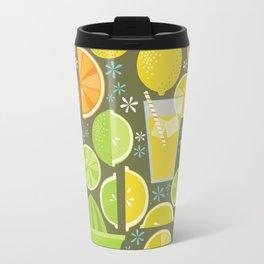 Drink Your Juice Repeat Travel Mug