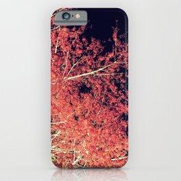 Inverted Tree Dark Night iPhone Case