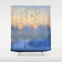 chicago Shower Curtains featuring Chicago by Shelby Babbert Photography