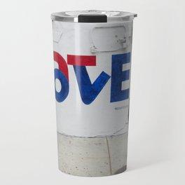 """""""Love/Hate"""" Travel Mug"""