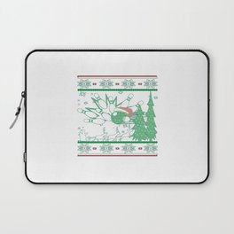 Bowling Christmas Laptop Sleeve