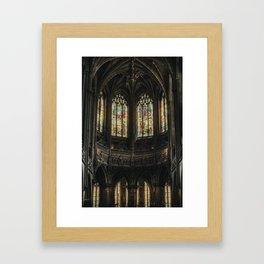 Gothic Windows Framed Art Print