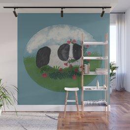 Cute guinea pig Wall Mural
