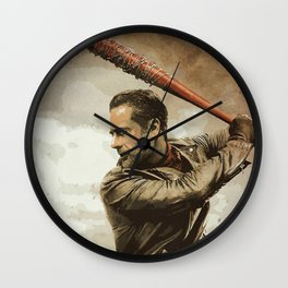 Negan Wall Clock