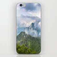indonesia iPhone & iPod Skins featuring Mt Batur - Bali, Indonesia by Jennifer Stinson