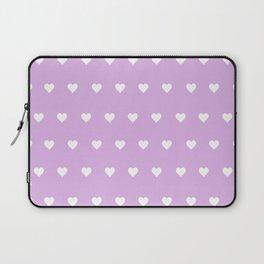 Purple Heart Pops Laptop Sleeve