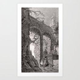 Tower 5 Art Print
