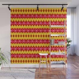 Iron Man Pattern Wall Mural