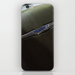 Chrysler Town & Country Limited Steering Wheel iPhone Skin