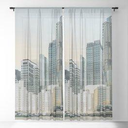 Harbor City Sheer Curtain