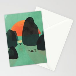 No one ever believed them... Stationery Cards