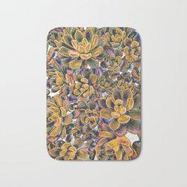 Floral tribute [honey] Bath Mat