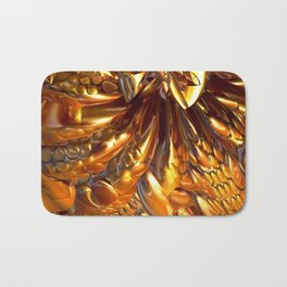 Gooey Chocolate Caramel Nougat #1 Bath Mat