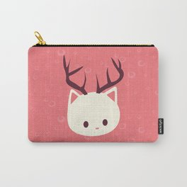 Reindeer Cat Carry-All Pouch