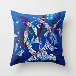 forceless Throw Pillow