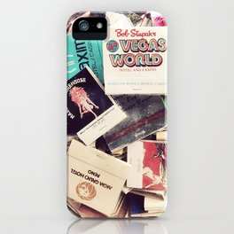 Vintage Matchbook Collection iPhone Case