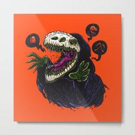 Grim Reapersaur Metal Print