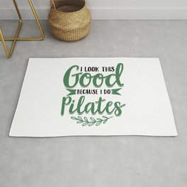 Pilates   Fitness Workout Yoga Gifts Rug