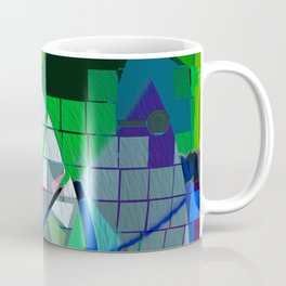 Urban Musings Abstract Geometric I Coffee Mug
