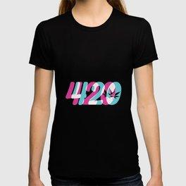 420 | Smoke Weed Cannabis Pot Gift Ideas T-shirt