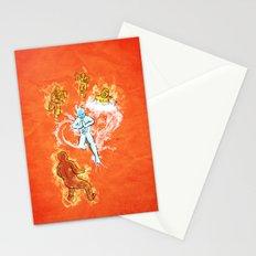 Elemental War Stationery Cards