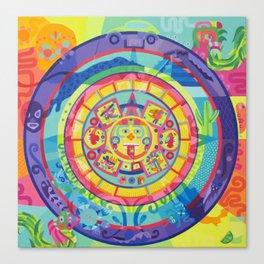 calendario Canvas Print