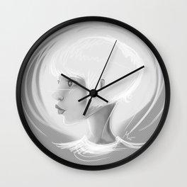 Monochrome Portrait Wall Clock