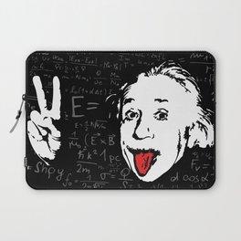 Silly Wisdom - Albert Einstein Laptop Sleeve