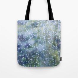 Soft Summer Rain Tote Bag