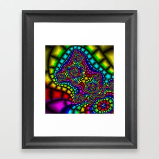 Colour Adour Framed Art Print