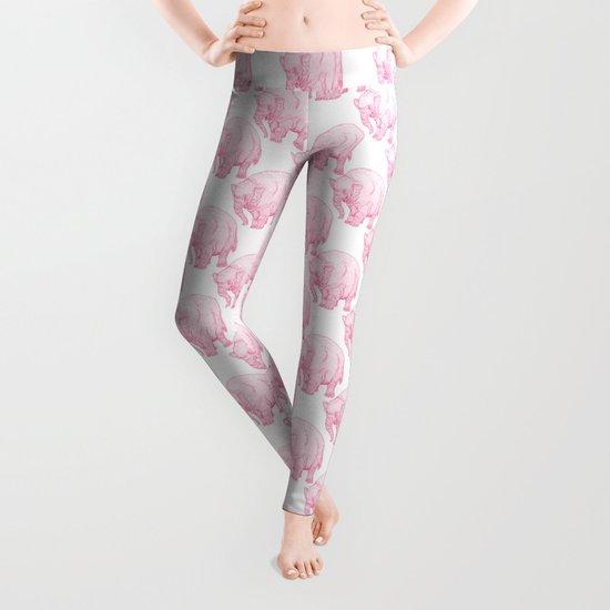 Pink Elephant Leggings