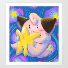 Cleffa Art Print