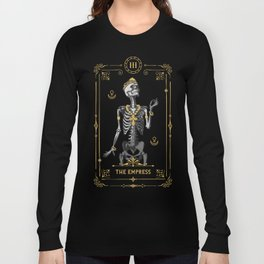 The Empress III Tarot Card Long Sleeve T-shirt