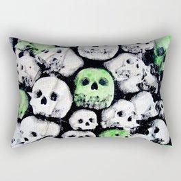 SKULL, by Ludo Rectangular Pillow