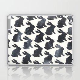 Rabbit Chalkboard Pattern by Robayre Laptop & iPad Skin