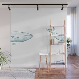 Moby Love Wall Mural