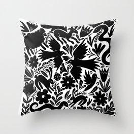 Nursery rhyme garden 001 Throw Pillow